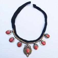 Kuchi tribal necklace-149