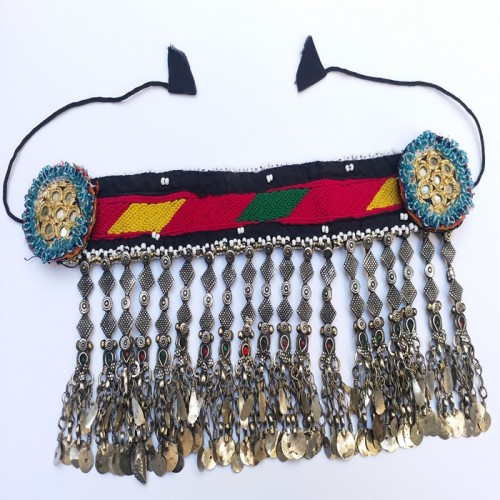 Kuchi tribal vintage necklace-20