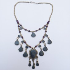 Black Vintage Necklace-431