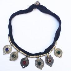 Kuchi tribal antique necklace-869