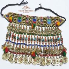 Afghan Tribal Vintage necklace # 1182