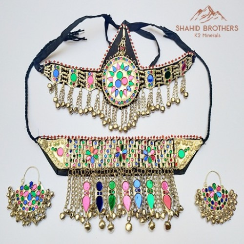 Afghan Tribal Fashion Wholesale Online Jewellery Set # 1198