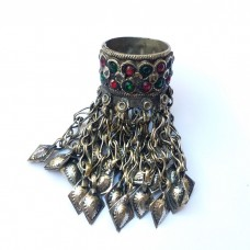 Full finger Old antique ring with Ringing bells-25