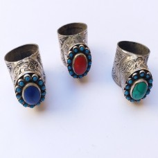 Afghan kuchi hand crafted ring # 367