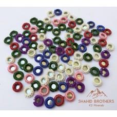 afghan handmade thread mirror-1009