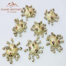 afghan tassel metal accessories-952