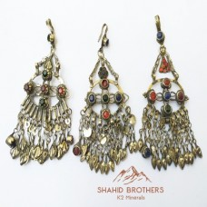 afghan kuchi tribal boho vintage pendants # 966