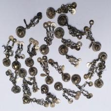 Afghan Tribal Antique Vintage Metal Button-718