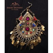 afghan tribal vintage pendants # 972