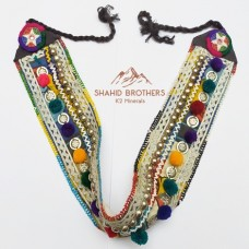 Afghan Tribal Kuchi Jewellery Gypsy Banjara Belt # 714