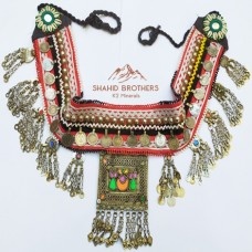 Afghani Belly Dance Belt with Antique Parts # 340