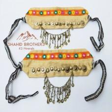 Afghan Kuchi Bohemian Boot Belts # 391