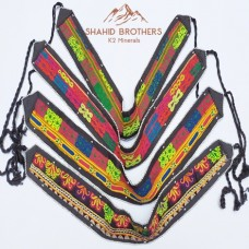 Banjara Boho Vintage Bellydance Old Fabric Belt # 408