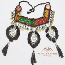 Afghan Tribal Kuchi Shall Bead With Tassels Belt # 664
