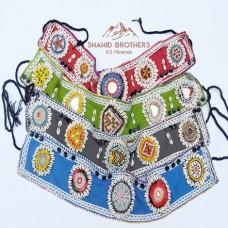 Afghani Pakistani Wholesale Kuchi Tribal Shall Bead Belt # 723