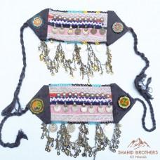 Vintage Kuchi Bohemian Boot Belts # 1031