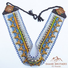 Afghan Kuchi Tribal Beaded Belt # 211