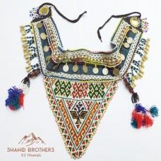 Vintage Tribal Clothing & Metal Belt # 322