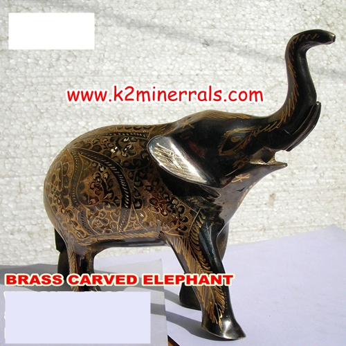 brass handicraft Elephant-2