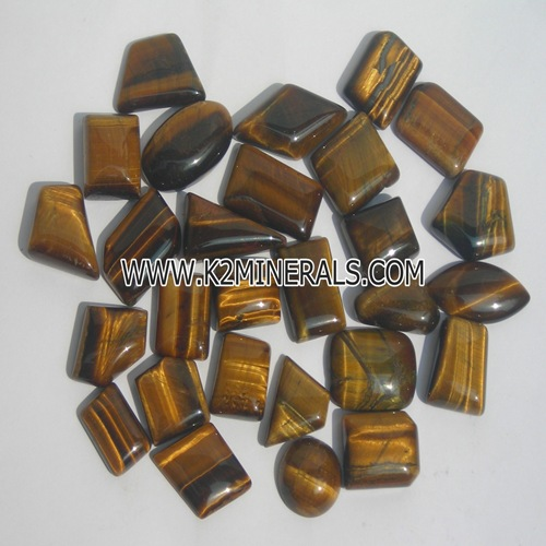 tiger eye stone cabochon-409
