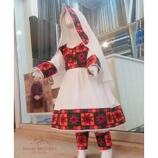 Tribal Afghan Dress For Children # 836