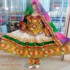 New Afghan Dress Tribal Gypsy Special Events Best Costume Clothing afghani cultural tribal dresses # 877