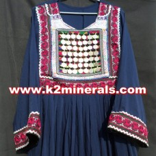 Antique Afghani Kuchi dress-383