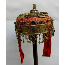 Ethnic handmade Ceremonial Turkman Cap-1164