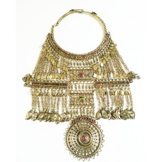 Belly dance vintage tribal ethnic necklace-1047