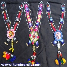 Vintage Belly Dance kuchi tribe necklace-441