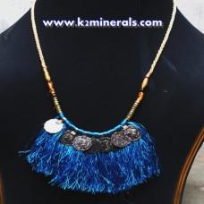 Vintage Belly Dance kuchi tribe necklace-442