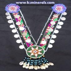 Vintage Belly Dance kuchi tribe necklace-443