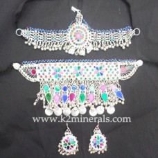 Afghanistan ethnic tribal necklace-595