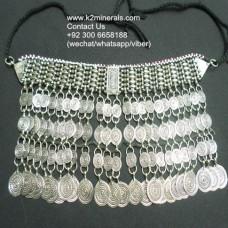 Afghan Tribal kuchi necklace-685