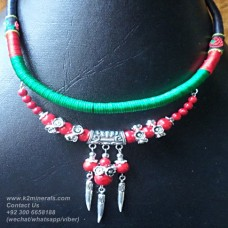 Tibetian Tribal necklace-740