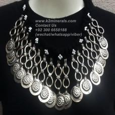 Afghan Tribal Antique Vintage necklace-838