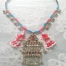 Afghan Tribal Antique Vintage necklace-896
