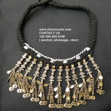 Belly Dancing tribal necklace-955