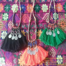 Tribal kuchi afghan belly dance necklace-811