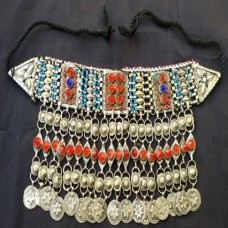 Vintage Afghan Tribal Antique necklace-1024