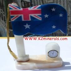 onyx stone clock-619