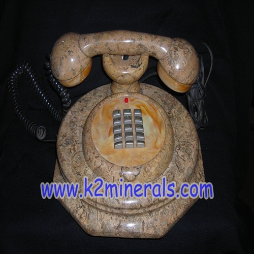 fossil stone telephone set-630