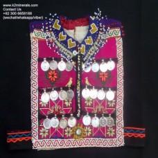 Afghan kuchi tribal banjara vest # 682