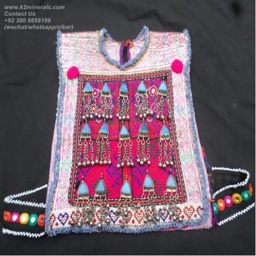 Afghan tribal belly dance vest # 700