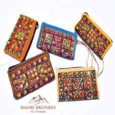BALOCHI HAND CRAFTED PURSE POUCH CLUTCH # 124