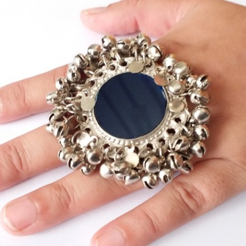 Kuchi Tribal silver wheel Afghan Jewellery Rings-1098