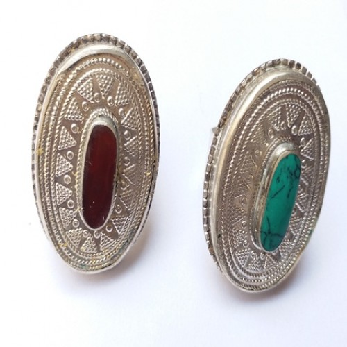 Afghan vintage tribal jewellery ring-1134