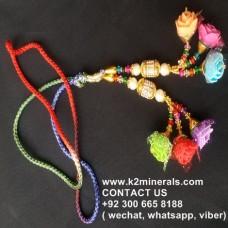 afghan tribal tassel-977