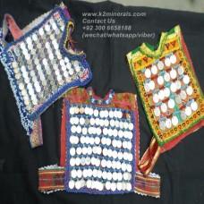 afghan tribal Orignal vintage coins vest # 793